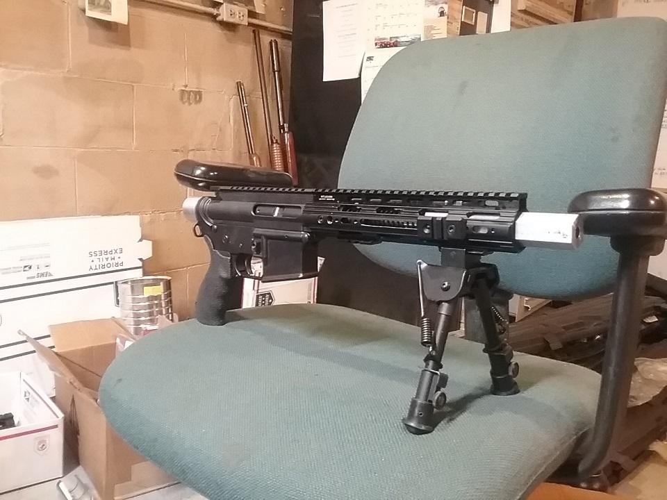 AR-15 Pistol Conversion